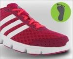 Adidasi cu talpa normala pentru jogging