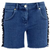 Pantaloni scurti blugi Biba Pom Pom
