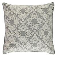 Linens and Lace Embroidered Cushion