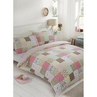 Set Asternuturi Linens and Lace Patch Cover