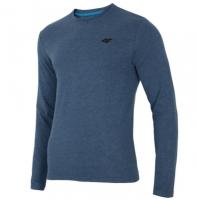 Bluza albastra 4F maneca lunga barbati