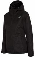 Mergi la Geaca de ski neagra cu gluga 4F femei