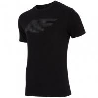 Tricou negru 4F barbati