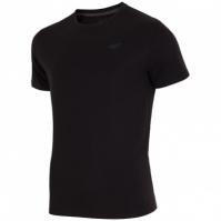 Tricou sport negru 4F barbati