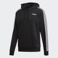 Hanorac negru cu gluga adidas Essentials 3S barbati