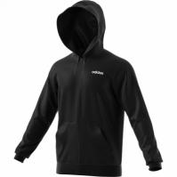 Hanorac negru cu gluga adidas Linear EI9821 barbati