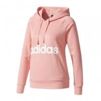 Hanorac roz adidas Essentials Linear Pullover Hoodie femei