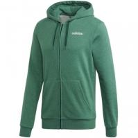 Hanorac verde cu gluga adidas Essentials Linear barbati