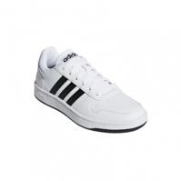 Pantofi sport albi adidas Hoops 2.0 barbati