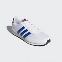 Pantofi sport albi adidas  V Racer 2.0 DB1448 barbati