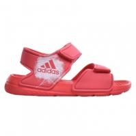 Sandale roz cu arici adidas AltaSwim BA7849 fetite