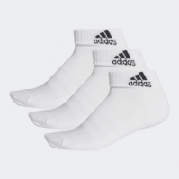 Sosete scurte albe adidas Performance Cushioned unisex