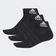 Sosete scurte negre adidas Performance Cushioned unisex