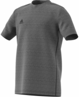 Tricou sport gri adidas Core 18 FS3250 baieti