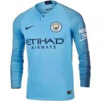 Bluza fotbal Nike Manchester City Acasa 2018-2019 barbati