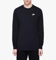 Bluza neagra maneca lunga Nike Club AR5193-010 barbati