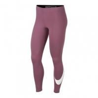 Colanti mov sala Nike Sportswear Sweat Leg-A-See femei