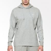 Hanorac gri bumbac cu gluga Nike Sportswear barbati