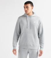 Hanorac gri gluga Nike Sportswear Club BV2654-063 barbati