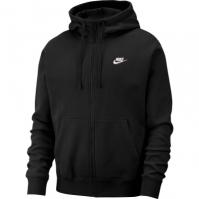 Hanorac negru cu gluga Nike Sportswear Club Fleece BV2645-010 barbati