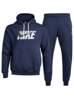 Trening bleumarin Nike NSW Fleece Graphic CI9591-410 barbati