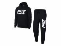 Trening negru Nike NSW Trk Suit Flc AR1341 010 barbati
