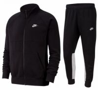 Trening sport negru Nike Sportswear Fleece BV3017-010 barbati