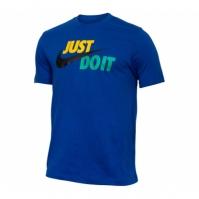 Tricou bumbac Nike NSW Just Do It Swoosh AR5006-438 barbati