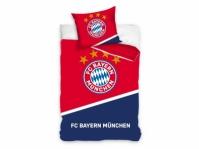 Lenjerii de pat bumbac cu echipe fotbal FC Bayern Munich 160 x 200 cm