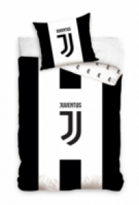 Lenjerii de pat bumbac cu echipe fotbal Juventus 160 x 200 cm