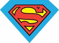 Perna cu desene animate Superman