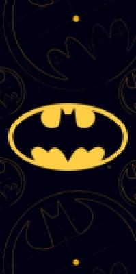 Prosop cu desene animate Batman