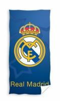 Prosop de plaja bumbac cu echipe fotbal Real Madrid 70 x 140 cm