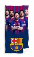 Mergi la Prosop de plaja fotbal FC Barcelona bumbac 70 x 140 cm