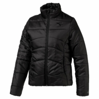 Geaca neagra de iarna Puma Essentials Padded copii