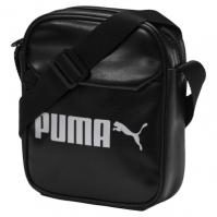 Geanta mica neagra Puma Campus Portable unisex