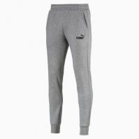 Pantaloni sport conici gri Puma Essentials Fleece Knit 851753-03 barbati