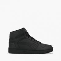 Pantofi sport negri inalti Puma Rebound Layup 370486-06 copii