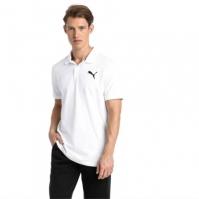 Mergi la Tricou polo alb bumbac Puma Essentials barbati