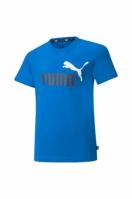 Tricou albastru Puma Essentials bumbac copii