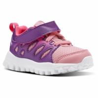 Adidasi sport roz cu arici Reebok RealFlex Train 4.0 fetite