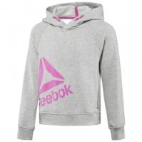 Hanorac gri Reebok Essentials Pullover Hoodie BS1305 fetite