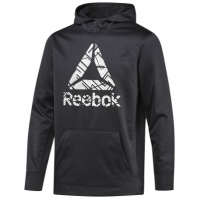 Hanorac negru Reebok Workout Ready Fleece BR7794 barbati