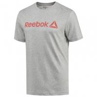 Tricou gri bumbac Reebok Logo barbati