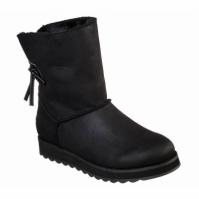 Cizme imblanite iarna Skechers Keepsakes 2.0 44932-BLK femei