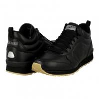 Pantofi sport piele Skechers OG 85 Mid Top Leather 52340-BBK barbati