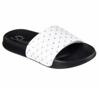 Papuci SKECHERS 2ND TAKE-RODEO DR 31547-WHT pentru femei