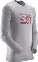 Bluze barbati Salomon Pulse Ls Tech Tee