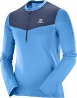 Bluze cu fermoar barbati Salomon Fast Wing Hz Ls Tee