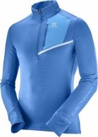 Bluze cu fermoar barbati Salomon Fast Wing Mid